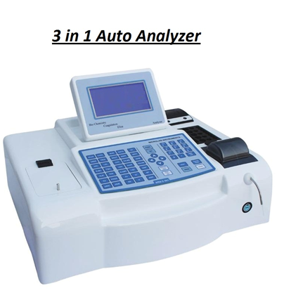 3 IN 1 AUTO ANALYZER